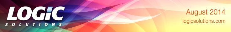 Logic Solutions Newsletter Banner August 2014