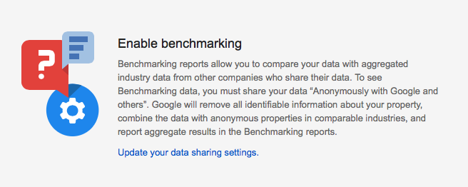 Google Benchmarking Report