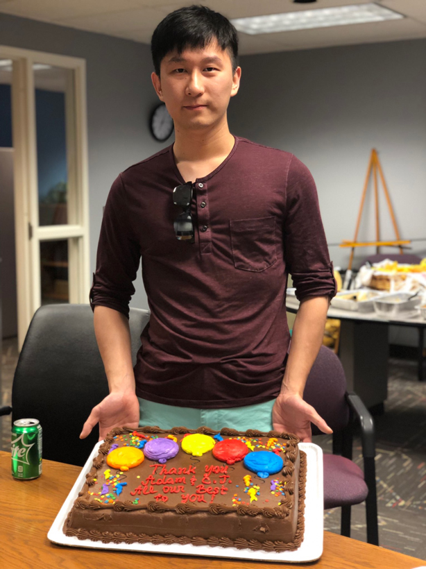 Logic intern Adam Zhang